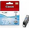 Canon CLI-521C INK CARTRIDGE CYAN, 	IP3600; IP4600; MP620; MP540; MP980