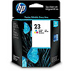 Hewlett Packard no.23 Ink Cart. 3-Color (30ml, 370 pages) replaces C1823DE