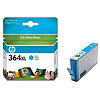 Hewlett Packard NO 364XL CYAN INK CARTRIDGE, 750 PGS