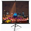 Elite Screens T113UWS1, Tripod Pull Up Screen, 113""