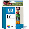 Hewlett Packard INK CARTRIDGE COLOR NO.17//DJ800 SERIES 15ML C6625AE