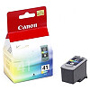 Canon CL-41 Color Ink Cartridge for Pixma iP1200/1300/1600/1700/1800/2200/2500/2600/6210/6220/631, MP140/150/160/170/180/210/220/410/430/450/460, MX300/310