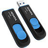 A-Data DashDrive UV128, 8GB, Black/Blue