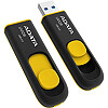 A-Data DashDrive UV128, 8GB, Black/Yellow