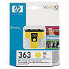 Hewlett Packard NO 363  YELLOW INK CARTRIDGE, 6 ML