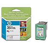 Hewlett Packard NO 351XL COLOUR INK CARTRIDGE, 14 ML