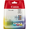 Canon CLI-8CMY, MultiPack