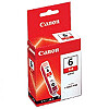 Canon BCI-6R Red Ink Tank (for i990/9900/9950, Pixma iP8500)