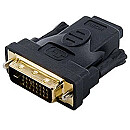 4World DVI-D [M] (24+1) > HDMI [F], Black