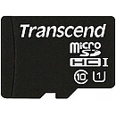 Transcend microSDHC, 8GB, Class 10 UHS-I + SD Adapter