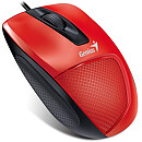 Genius DX-150X, Optical, USB, Red