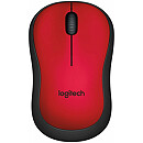 Logitech M220 Silent, Wireless, Red