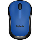 Logitech M220 Silent, Wireless, Blue