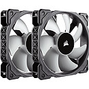 Corsair Air Series ML120 PRO Magnetic Levitation Fan, 120mm, Twin Pack