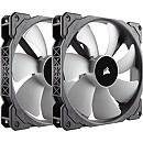 Corsair Air Series ML140 PRO Magnetic Levitation Fan, 140mm, Twin Pack