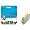 Hewlett Packard NO 364 YELLOW INK CARTRIDGE, 300 PGS