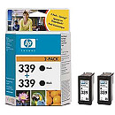 Hewlett Packard INK CARTRIDGE BLACK NO.339/2PCS 21ML C9504EE