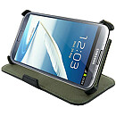 4World Protective Case, Stand, Black (Galaxy Note 2)