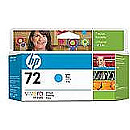 Hewlett Packard NO 72 CYAN INK CARTRIDGE 130ML