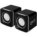 Arctic Cooling S111 USB Portable speakers, Black