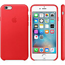 Apple iPhone 6s Leather Case, Red