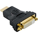 4World HDMI [M] > DVI-D [F] (24+1), black