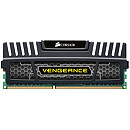 Corsair Vengeance Black, 4GB, DDR3, 1600MHz, CL9, Single Stick