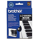 Brother LC-1000BK BLACK INK CARTR,500 PG
