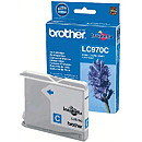 Brother LC970C CYAN INK CARTR, 300 PGS