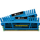 Corsair Vengeance Blue, 8GB, DDR3, 1600MHz, CL9, Kit of 2