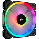 Corsair LL140 RGB LED, Static Pressure, 140 mm, Single fan