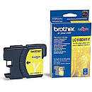 Brother LC1100HY YELLOW INK CARTR, 750PG