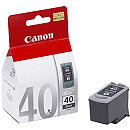 Canon PG-40 Black Ink Cartridge (for FAX JX200/500, Pixma iP1200/1300/1600/1700/1800/2200/2500/2600, MP140/150/160/170/180/210/220/410/430/450/460, MX300/310)