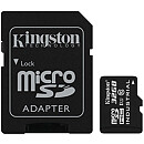 Kingston microSDHC, 32GB, Class 10 UHS-I, Industrial + SD Adapter