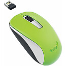 Genius NX-7005, Optical, Wireless, Green