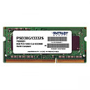 Patriot SODIMM, DDR3, 4GB, 1600MHz, CL11, Single stick