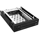 "Raidsonic Icy Box Mobile Rack for 2x 2.5""/3.5"" SATA HDD, Black"