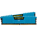 Corsair Vengeance LPX Blue, DDR4, 16GB, 3000MHz, CL15, Kit of 2