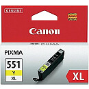 Canon CLI-551XL Y, Ink Cartridge Yellow