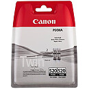 Canon PGI-520BK, Black Twin Pack