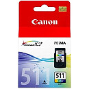 Canon CL-511, Color BLISTER with security