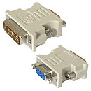 Gembird DVI-A 24-pin male to VGA 15-pin HD female