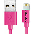A-Data Sync & Charge Lightning Cable, 1m, Pink