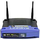 Linksys WRT54GL, 54 MBPS WLAN ROUT (LINUX INSIDE)