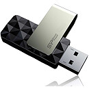 Silicon Power Blaze B30, 8GB, USB3.0, Black
