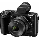 Nikon 1 V3 Kit, Black + 10-30mm