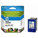 Hewlett Packard INK CARTRIDGE COLOR NO.22XL/11ML