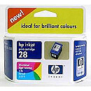 Hewlett Packard NO 28 COLOR INK CARTRIDGE, 8ML