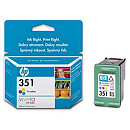 Hewlett Packard NO 351 COLOUR INK CARTRIDGE, 4 ML
