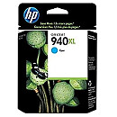 Hewlett Packard 940XL Cyan Officejet Pro 8000/8500 Ink Cartridge (1.400 pages)
